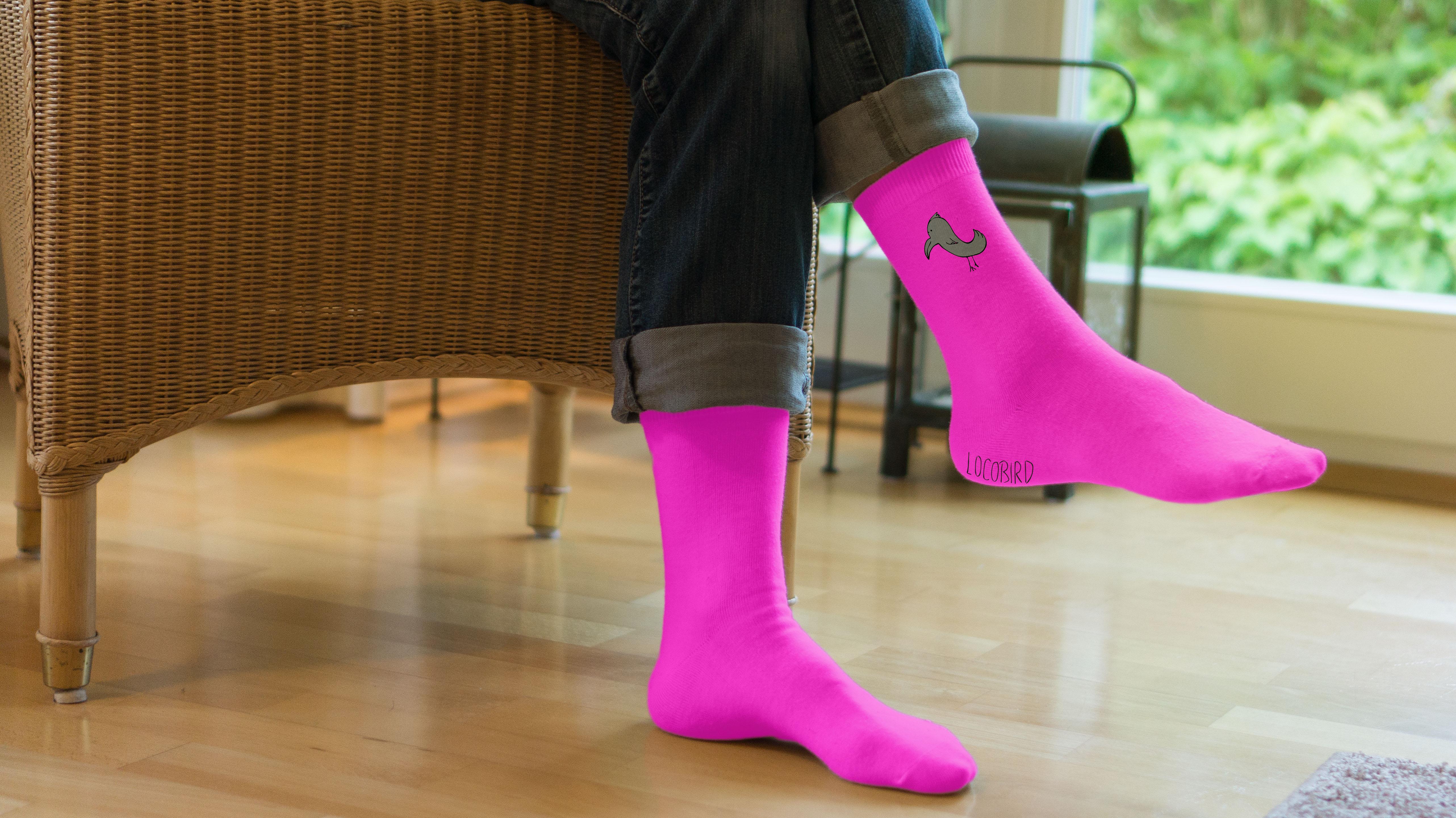 Socken Mockup_pink